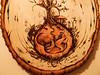 Incredible fine Pyrography (wood burning) 04 by Carlos Mota by UIRIATI carlos mota