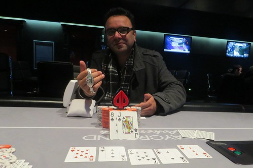 Event 12 Champion: Bhupinder W