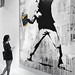 Banksy - Art Miami - Bansky Thrower by Michele Eve Photography
