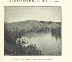 Image taken from page 215 of 'Through the Subarctic Forest. A record of a canoe journey from Fort Wrangel to the Polly Lakes and down the Yukon River to the Behring Sea ... With illustrations and maps'