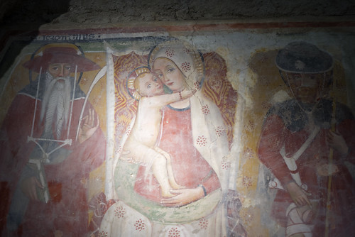 Flickriver most interesting photos from pittura medievale for Chaldon church mural