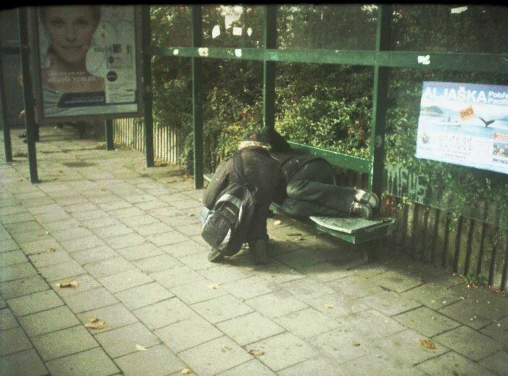 Chaika 3 - Bus Stop Scene