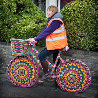 Knitted Bike Cosy