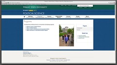 The Department of Political Science interior page