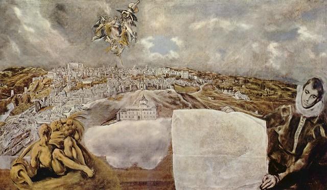Toledo visto por El Greco.