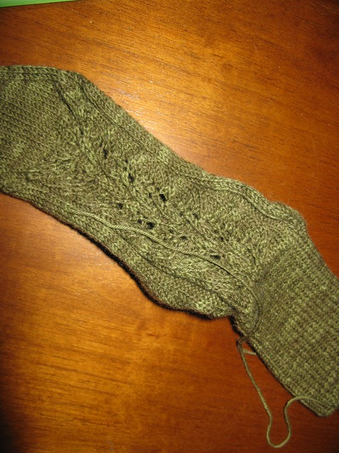 Leaf sock