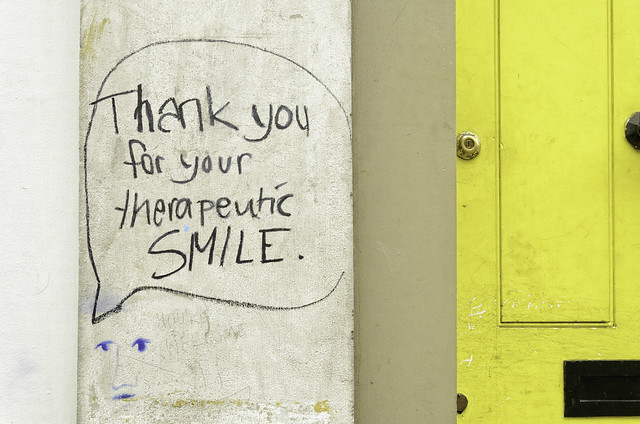 Thank you for your therapeutic smile