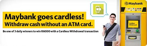 Cardless Withdrawal