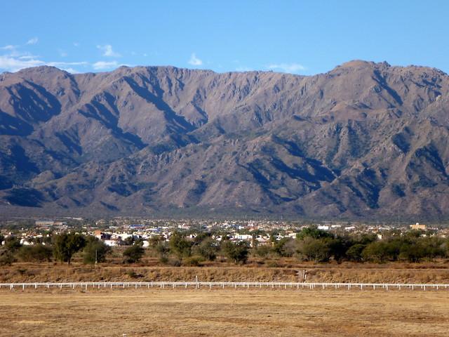 La Punta et la Sierra de San Luis