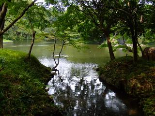 小石川後楽園・園内風景