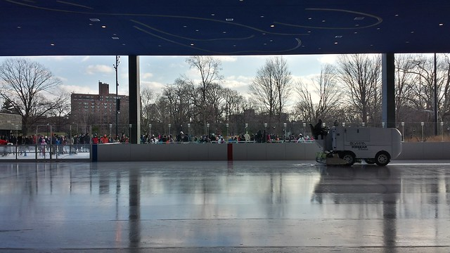 Lakeside at Prospect Park by #TWBTA - zamboni smoothing out the ice
