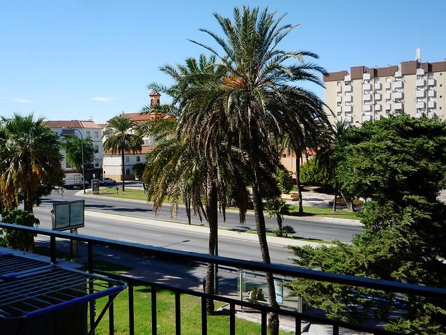 Geräumige Terrasse nahe dem Eduardo Carvajal