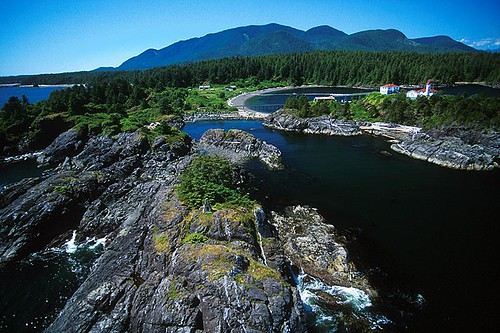 Yuquot / Friendly Cove, Nootka Island, Nootka Sound, Vancouver Island, British Columbia, Canada