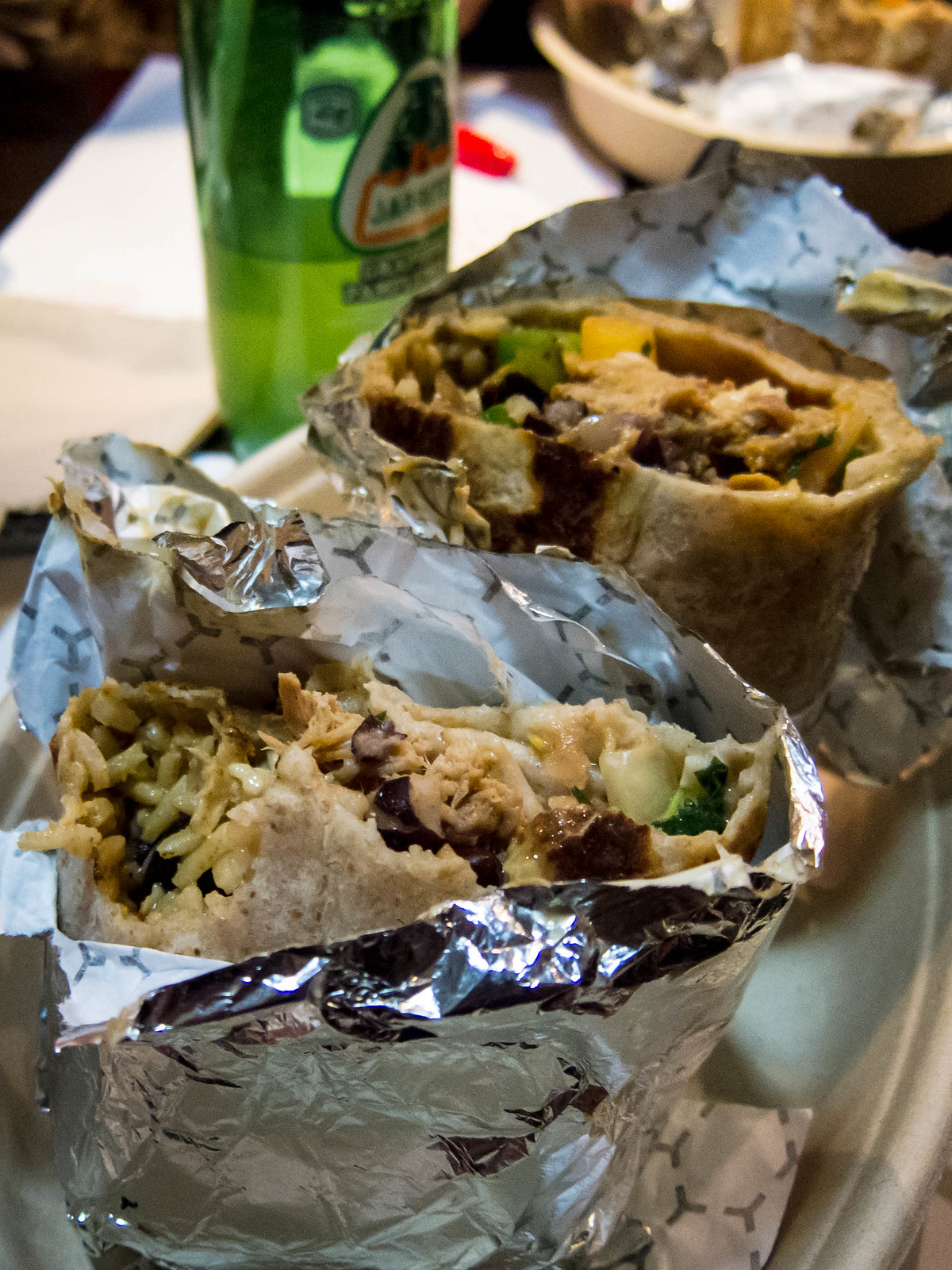 Mucho Burrito Menu Tasting