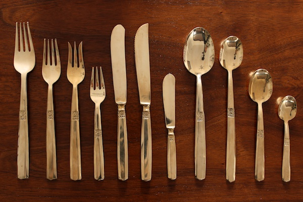 My Antique Flatware