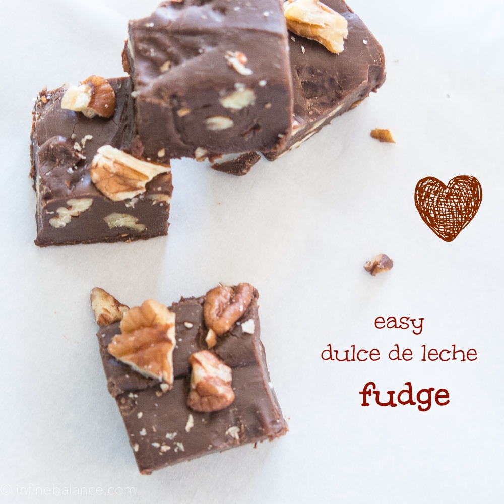 Dulce de Leche Fudge | www.infinebalance.com