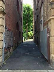 Alley on Heusteigstraße