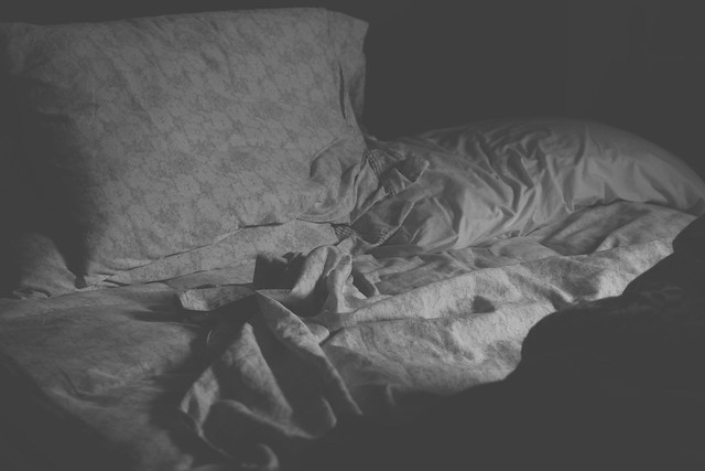 sheets + pillows + sleepiness