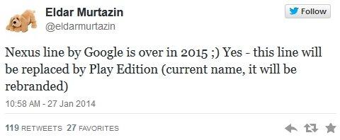 Муртазин Google Nexus
