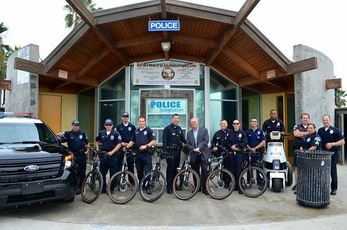 Venice Beach Police Officers