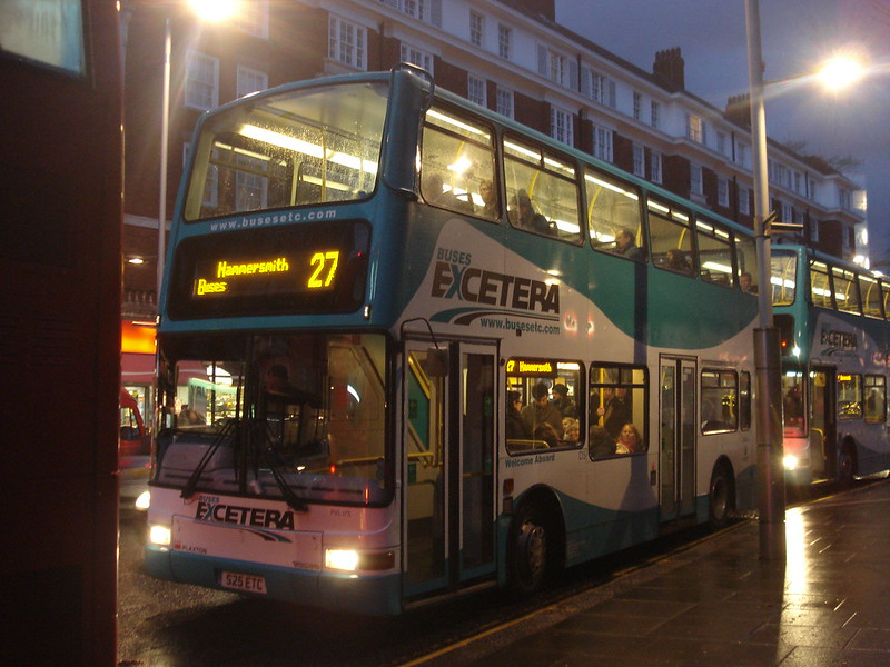 Buses Excetera PVL175 on Route 27, Kensington