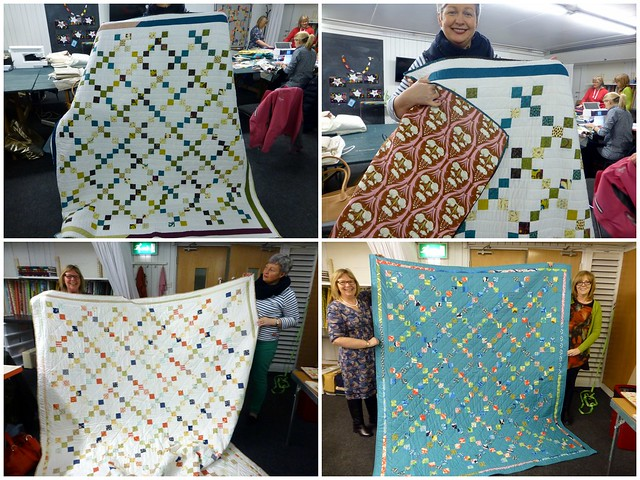 Irish Chain Quilt Class Feb14
