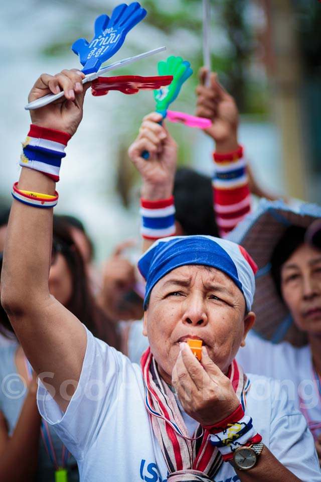 Bangkok Shutdown - Anti Government Protest @ Bangkok, Thailand