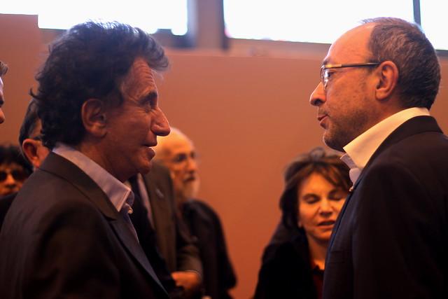 Jack Lang et Bertrand Morisset
