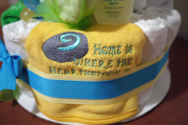 World of Warcraft Diaper Cake