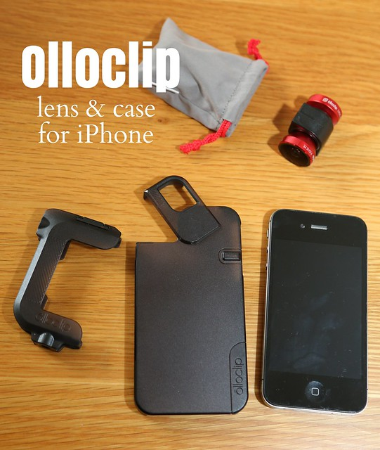 Olloclip lenses & case