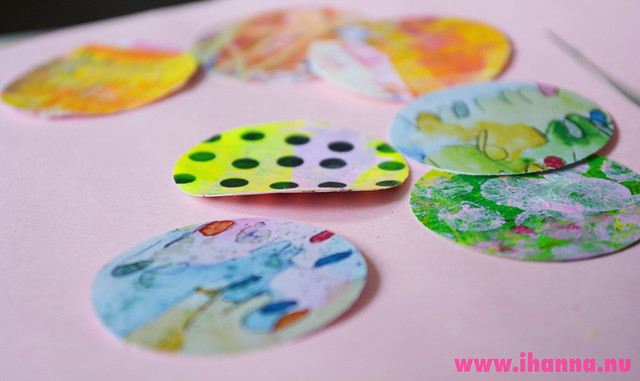 Die cut circles