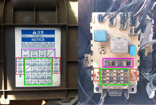 Help Re Wiring Fuse Box Please Toyota Yaris Forums Ultimate Rhyarisworld: Toyota Echo Fuse Box At Gmaili.net