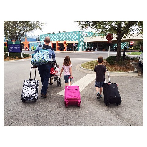 I started packing three days ago. I didn't want to forget a thing. | Thank you, @amtourister for our amazing luggage! #packmorefun #typeawdw #typeaparent #disneyworld #allstarmovies #disneyside #disneysmmoms