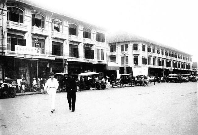 Saigon 1929 - Le quartier chinois