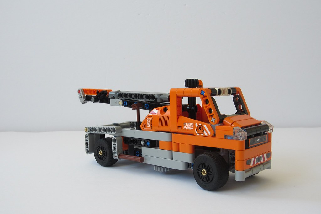 MOC] 42060 C-Model: Tow Truck WITH INSTRUCTIONS - LEGO Technic ...