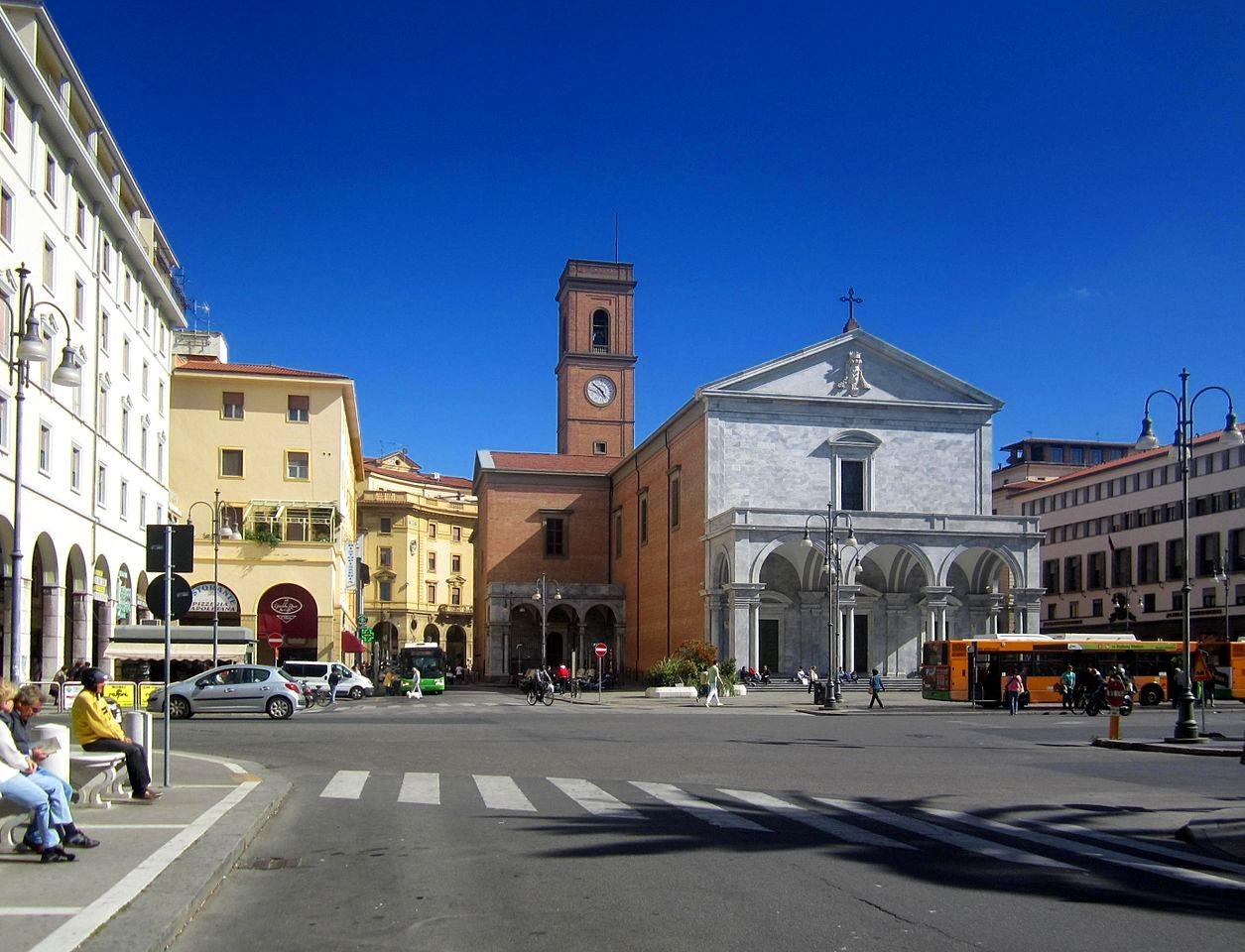 Piazza Grande, Livorno. Credit Luca Aless