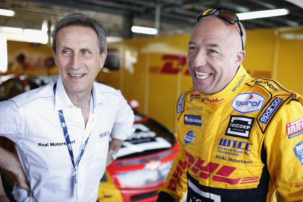 RAVAGLIA Roberto (ita) team manager team ROAL Motorsport ambiance portrait CORONEL Tom (ned) Chevrolet RML Cruze team ROAL Motorsport ambiance portrait during the 2017 FIA WTCC World Touring Car Race of Morocco at Marrakech, from April 7 to 9 - Photo Jean Michel Le Meur / DPPI.
