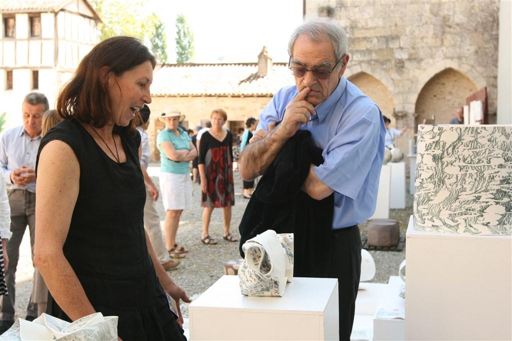 2010 - Festival de la Céramique à l'Abbaye d'Arthous, Hastingues