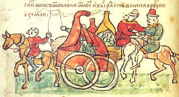 Pechenegs from Radzivill chronicle