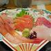 Sashimi with Gold Leaf - Omi-cho Market, Kanazawa by mmmyoso
