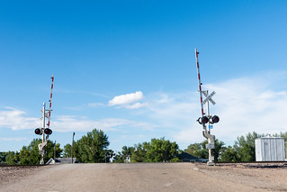 Railroad Crossing on the Hi-Line