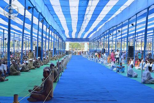 View of Satsang Pandal
