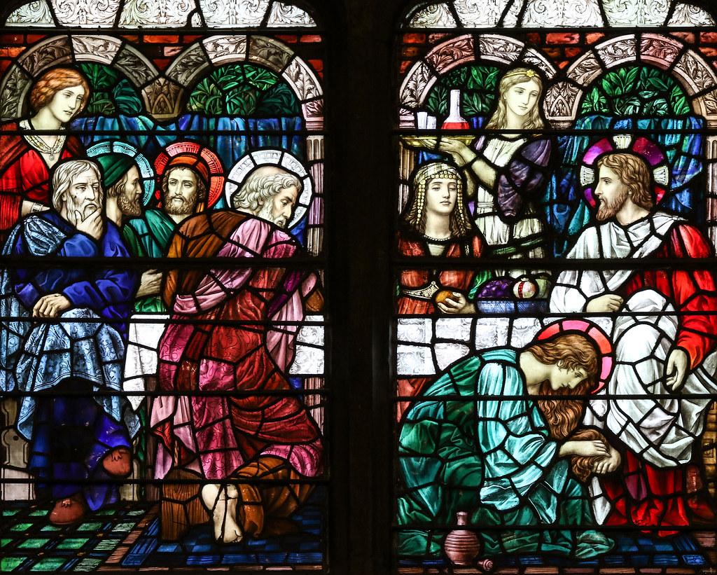 Mary of Bethany Anoints Jesus's Feet