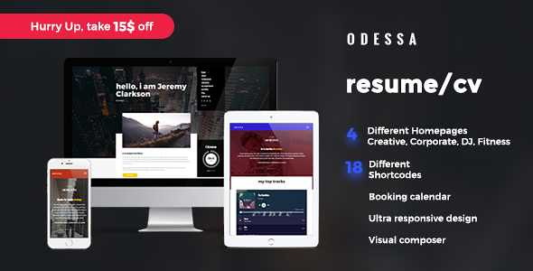 Odessa WordPress Theme free download