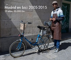 Madrid en bici 2005-2015. 10 años, 30.000 Km
