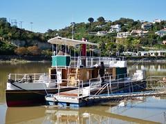 maintenance on the Wairua riverboat
