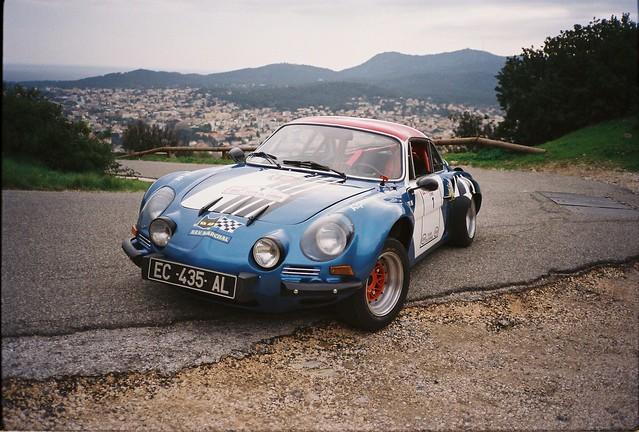 A110 1600S '71 Tour de Corse pour Alpine Planet
