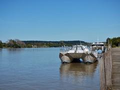 catamarans at wharf