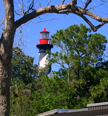 lighthouses...st augustine, ponce de leon point, lady of the lake...
