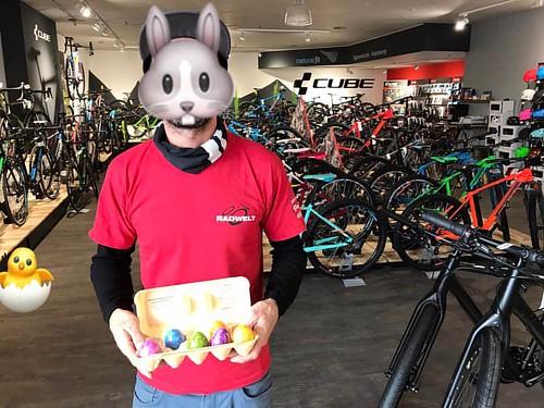 Der 🐰hat die ersten Eier versteckt ☝️ #cubestore #hermsdorf #froheostern #eier #verstecken #osterhase  Ihr dürft Sie diesen Samstag finden und behalten  👍